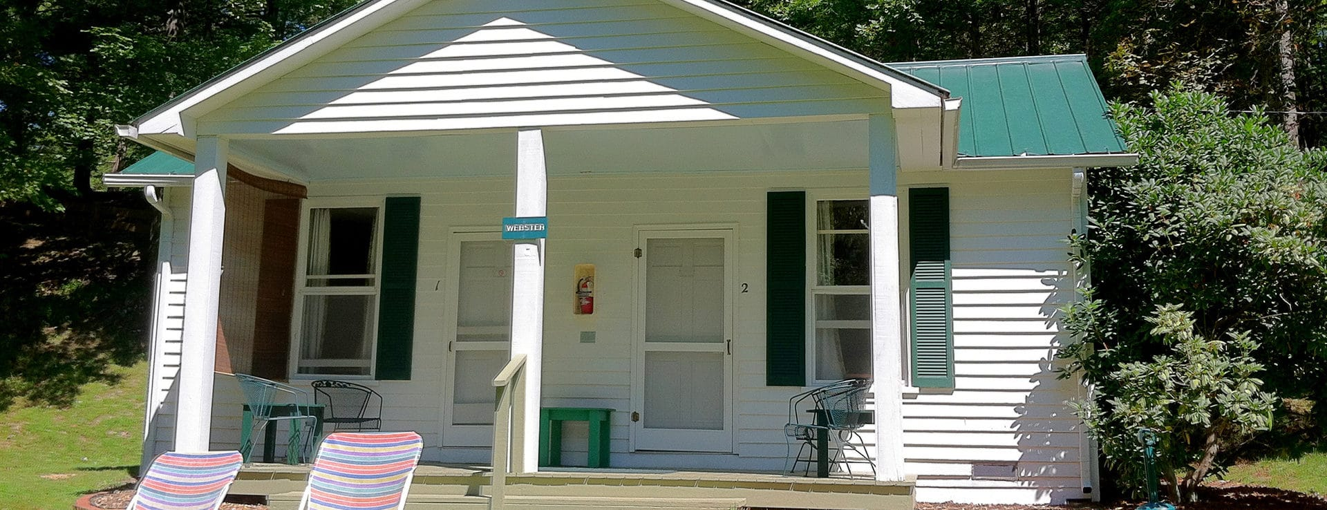 The Webster Cottage at Capon Springs